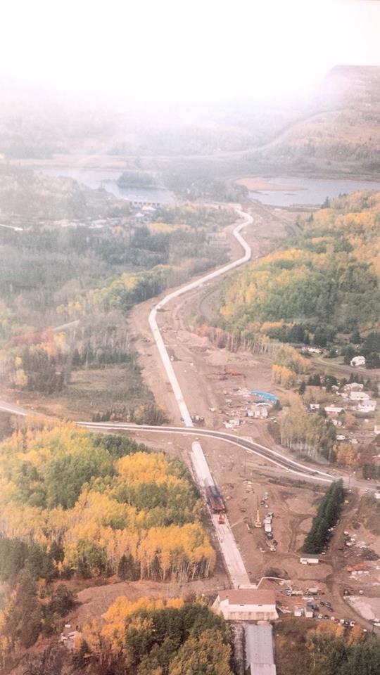 Kakabeka Falls Aqueduct 1996